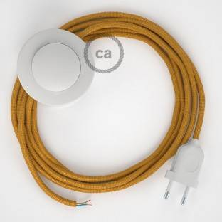 Wiring Pedestal, RM05 Gold Rayon 3 m. Choose the colour of the switch and plug.