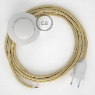 Wiring Pedestal, RN06 Jute 3 m. Choose the colour of the switch and plug.