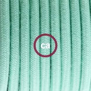 """""""Spostaluce"""", žalvarinis šviesos šaltinis su tekstiliniu laidu ir angomis šonuose"""
