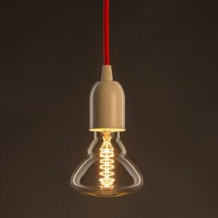 Lempos instaliacija, RL04 blicgi juoda viskozė 1,80 m. Pasirinkite jungiklio ir kištuko spalvą.