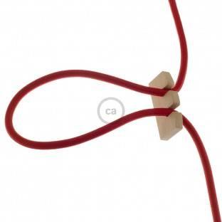 Instaliacijos pagrindas, TM00 dramblio kaulo viskozė 3 m. Pasirinkite jungiklio ir kištuko spalvą.