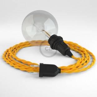 """Apvalus elektros laidas """"Vertigo HD"""", dengtas Mr Blue audiniu ERM60"""