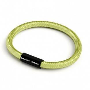 Bracelet with Matt black magnetic clasp and RM32 cable