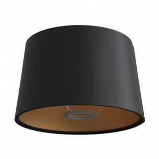 Athena lampshade with socket E27 for table lamp - Made in Italy
