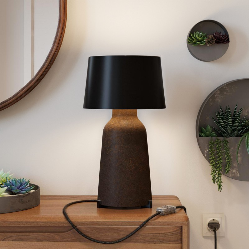 Wooden feet Kit for table lamp support