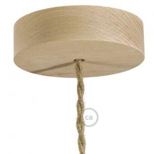 Wooden ceiling rose kit
