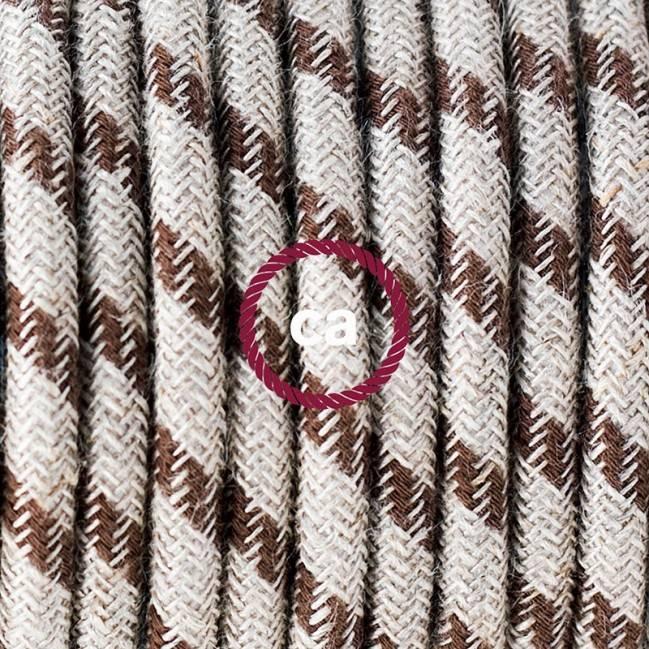 """Decentralizatorius, baltas """"V"""" formos lubų arba sienos kabliukas bet kokiam tekstiliniam elektros laidui"""