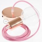 Vintažinė, aukso spalvos lemputė, žvakės formos C35. ZigZag formos anglies gija 25W E14. Dimeriuojama 2000K