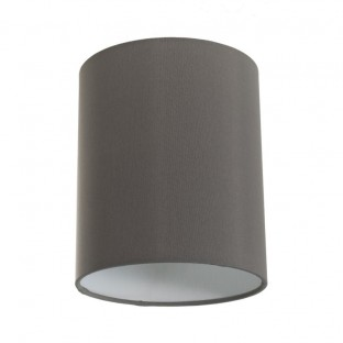 Cylinder fabric lampshade with E27 fitting, 15cm diameter h18cm - 100% Made in Italy