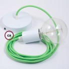 LED lemputė - alyvuogės formos 4W E14