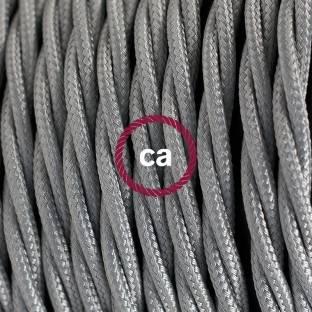 XL elektros kabelis 3x0,75. Neapdirbto džiuto padengimas. Diametras 16mm.