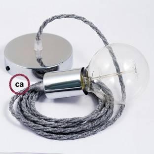"""Kabantis šviestuvas """"Le Palle Volanti"""" tuščias, su galimybe individualizuoti. Su džiuto laidu RN06"""