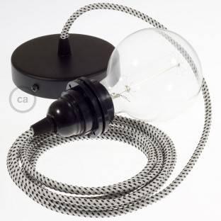 """Plastikinis laido spaustukas, skirtas """"Creative-Tube"""", diametras 20 mm"""
