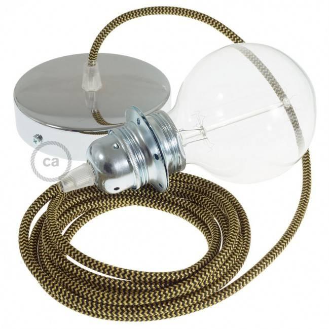 """Fermaluce"" su ""Lobster Cinette"" cilindriniu šviesos gaubtu, juodo metalo, Ø 15cm aukštis 18cm, sienoms ar luboms"