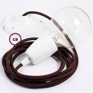 """Žalvario apdailos metalinis """"Fermaluce"""" su E27 sriegiuotu lempos lizdu - metalinis sienos ar lubų šviesos šaltinis"""