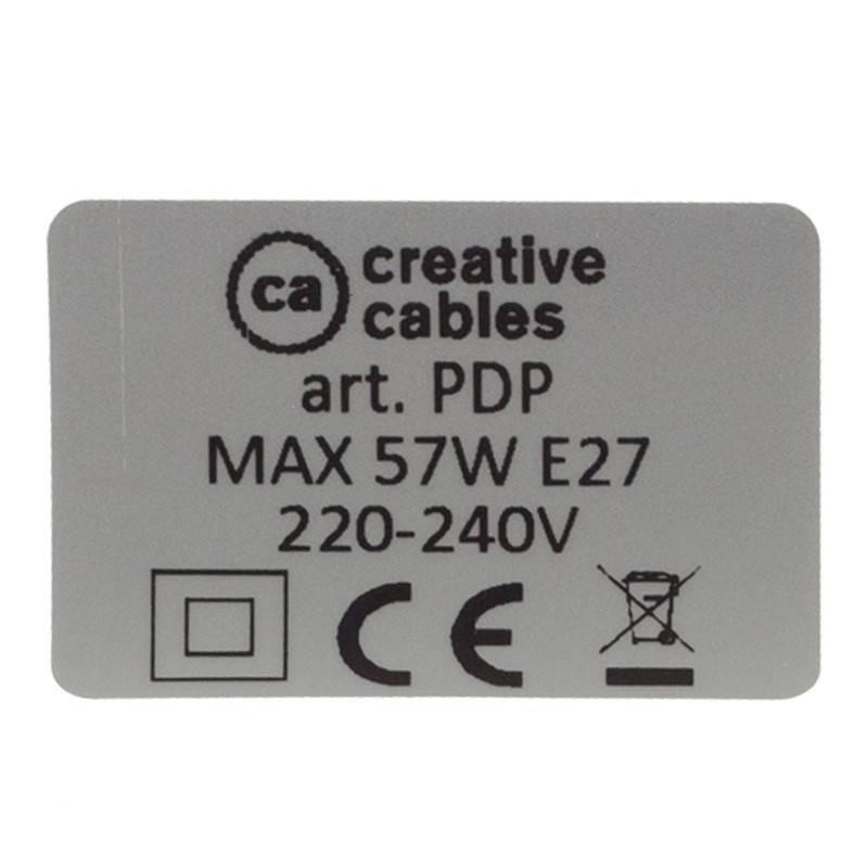 """""""Spider"""", 5 lempučių kabantis šviestuvas, chromuoto metalo, RM04 juodas laidas, pagaminta Italijoje."""